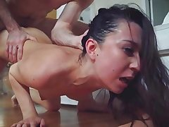 Stepsis Ariel got a tough and brutal boinking