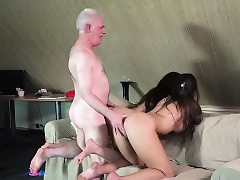 Grandpa Fucks Teenies Loved Damsels Surrounding Nook triple