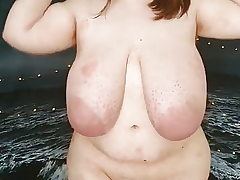 Thick BBW Teen with massive funbags