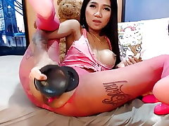 Webcam japanese gal phat toys ass-fuck and drizzle