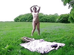 Solo Outdoor Strip & Toying Myself To Ejaculation