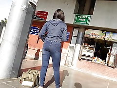 Punjabi Girl In Tight Jeans ( Super-Hot )