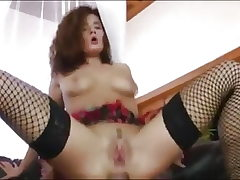 Web cam gal gets help from a big pipe
