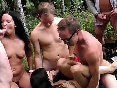 real german outdoor swinger party